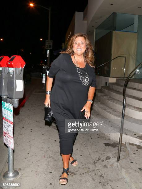 Abby Lee Miller is seen on June 15 2017 in Los Angeles California
