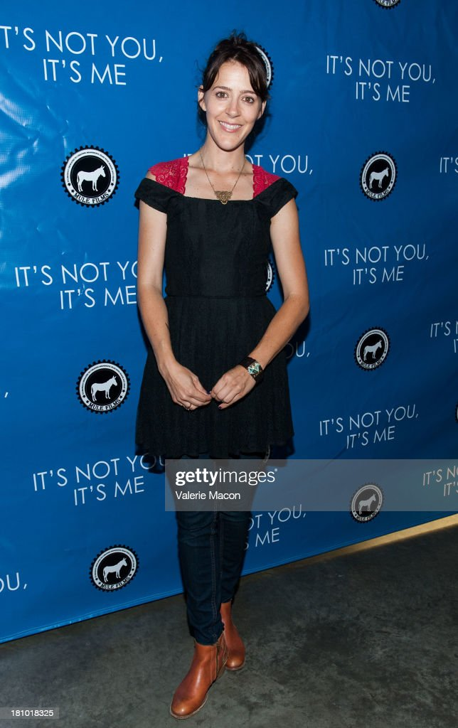 Abby Miller arrives at the premiere of 'It's Not You, It's Me' at Downtown Independent Theatre on September 18, 2013 in Los Angeles, California.