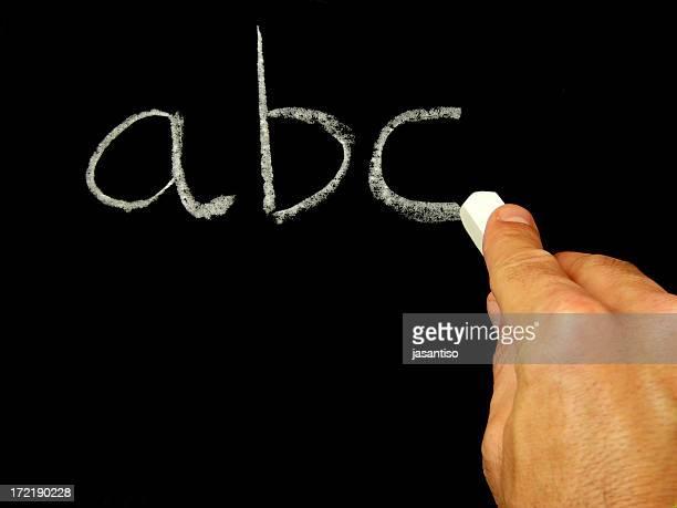 abc handwriting 2