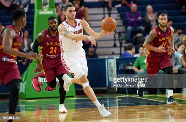 Abdel Nader drives up court for the Maine Red Claws against the Fort Wayne Mad Ants Monday April 10 2017