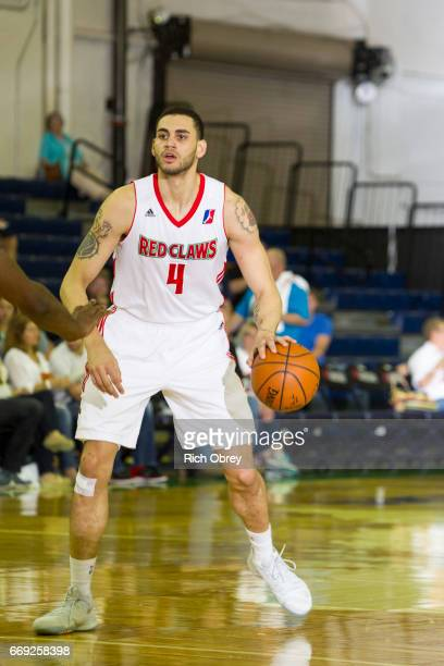 Abdel Nader of the Maine Red Claws runs the offense against the Raptors 905 in Game 1 of the NBADL Eastern Conference Finals on Sunday April 16 2017...