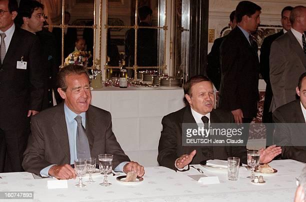 Abdelaziz Bouteflika Algerian President Official Visit To France Paris 16 juin 2000 le président algérien Abdelaziz BOUTEFLIKA en visite officielle...