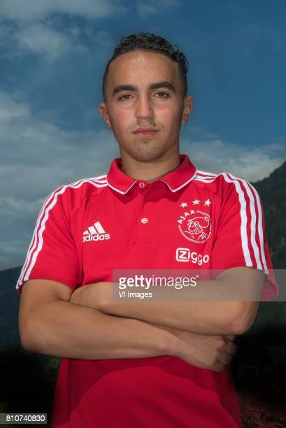 Abdelhak Nouri of Ajax during the preseason summer training camp of Ajax Amsterdam at Lindenstadion on July 07 2017 in Hippach Austria