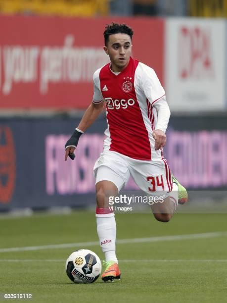 Abdelhak Nouri of Ajaxduring the Dutch Eredivisie match between Roda JC Kerkrade and Ajax Amsterdam at the Parkstad Limburg stadium on February 05...