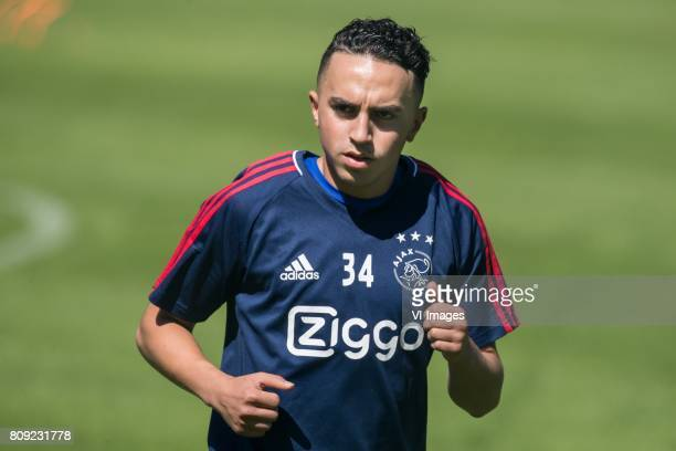 Abdelhak Nouri of Ajaxduring the preseason summer training camp of Ajax Amsterdam at Lindenstadion on July 05 2017 in Hippach Austria