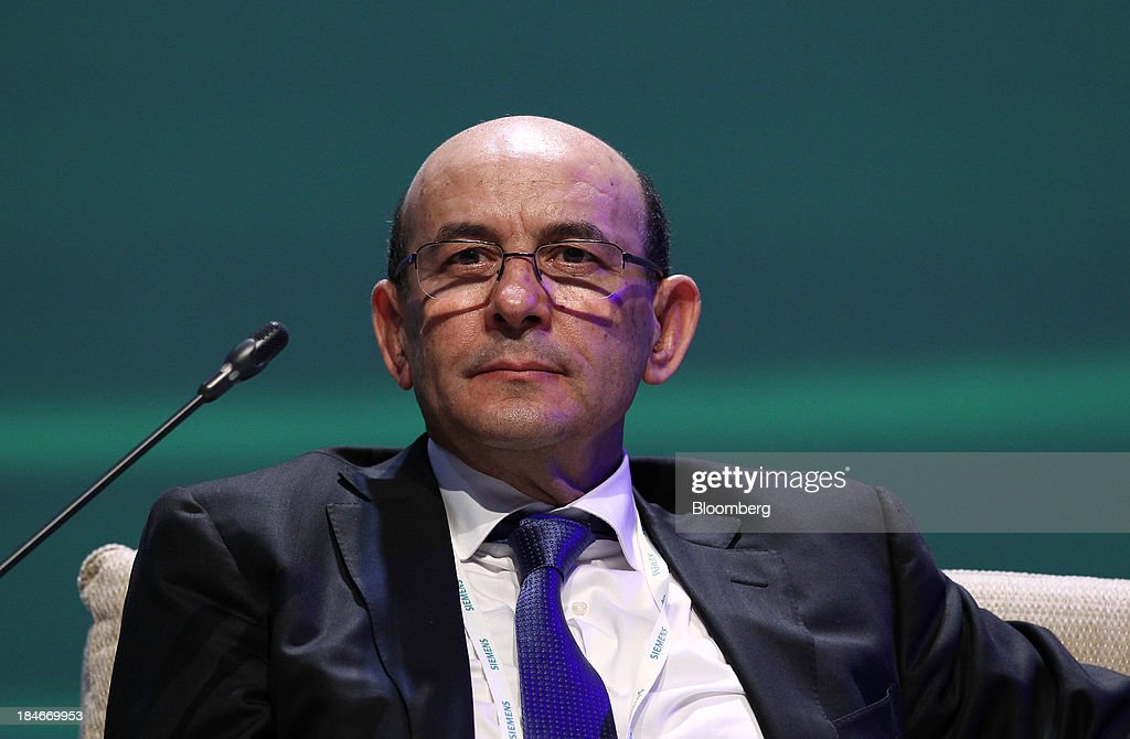 Abdelhamid Zerguine chief executive officer of Sonatrach attends the 22nd World Energy Congress in Daegu South Korea on Tuesday Oct 15 2013 The WEC a...
