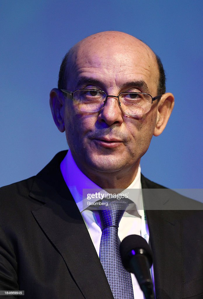 Abdelhamid Zerguine chief executive officer of Sonatrach speaks during the 22nd World Energy Congress in Daegu South Korea on Tuesday Oct 15 2013 The...