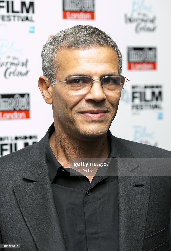 <a gi-track='captionPersonalityLinkClicked' href=/galleries/search?phrase=Abdellatif+Kechiche&family=editorial&specificpeople=2549398 ng-click='$event.stopPropagation()'>Abdellatif Kechiche</a> attends the screening of 'Blue Is The Warmest Colour' Love Gala In Association With Timeout during the 57th BFI London Film Festival at Curzon Chelsea on October 14, 2013 in London, England.