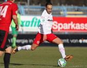 Abdenour Amachaibou of Regensburg during the 3rd Liga match between Chemnitz and Regensburg at Stadion an der Gellertstrasse on February 01 2014 in...
