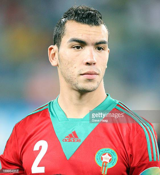 Abderrahim Chakir during the 2013 African Cup of Nations match between Morocco and Cape Verde at Moses Mahbida Stadium on January 23 2013 in Durban...