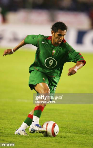 Abdessadki Yacine of Morocco in action during the World Cup Qualifying match between Morocco and Malawi at the Prince Moulay Abdellah Stadium on June...