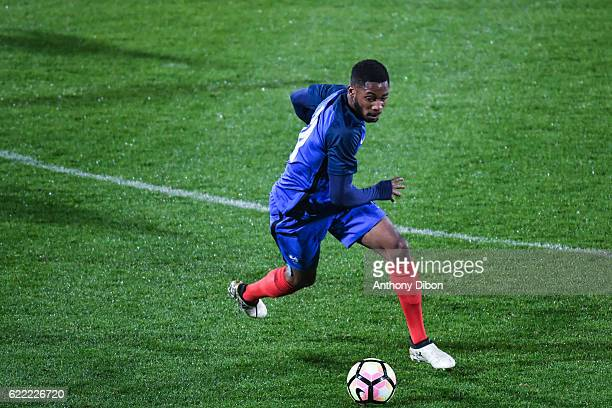 Abdou Diallo of France during the International friendly match between France and Ivory Coast on November 10 2016 in Beauvais France