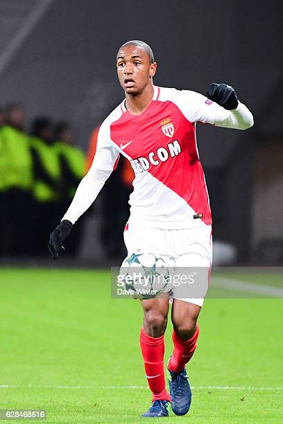 Abdou Diallo of Monaco during the Champions League match between Bayer Leverkusen and Monaco at BayArena on December 7 2016 in Leverkusen Germany