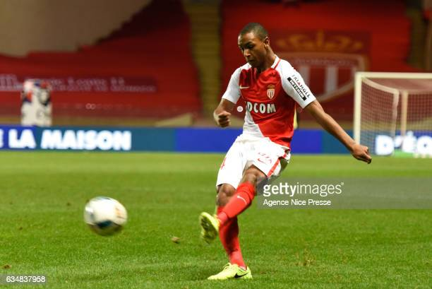 Abdou Diallo of Monaco during the Ligue 1 match between As Monaco and Fc Metz at Louis II Stadium on February 11 2017 in Monaco Monaco