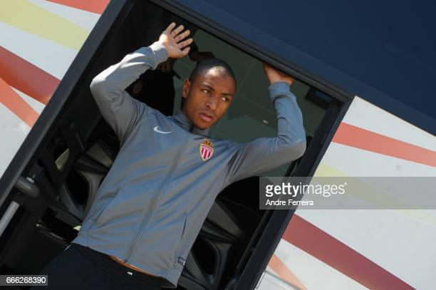 Abdou Diallo of Monaco during the Ligue 1 match between SCO Angers and AS Monaco on April 8 2017 in Angers France