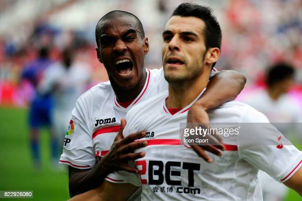 Abdoulay Konko / Alvaro Negredo Fc Seville / Atletico de Madrid 6eme journee de Liga