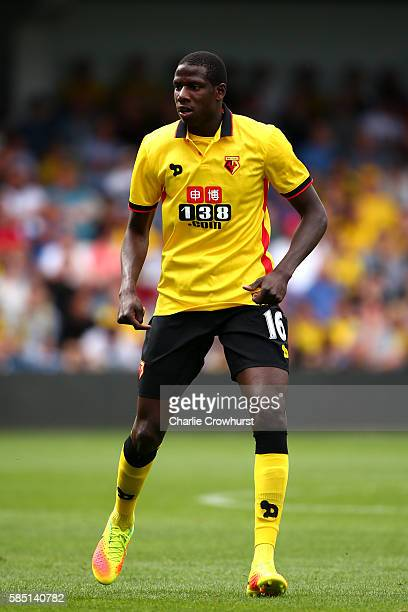 Abdoulaye Doucoure of Watford during the pre season friendly match between Queens Park Rangers and Watford at Loftus Road on July 30 2016 in London...