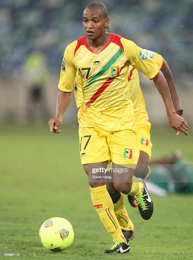 Abdrahamane Traore of Mali on attack during the 2013 African Cup of Nations Semi-Final match between Mali and Nigeria at Moses Mahbida Stadium on February 06, 2013 in Durban, South Africa.