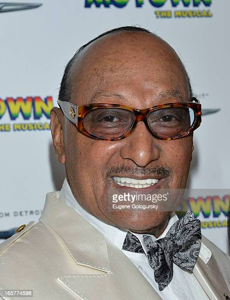 Abdul 'Duke ' Fakir attends the 'Motown The Musical' Motown Family Night at the LuntFontanne Theatre on April 5 2013 in New York City