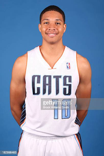 Abdul Gaddy of the Charlotte Bobcats poses for media day at the Time Warner Cable Arena on September 20 2013 in Charlotte North Carolina NOTE TO USER...