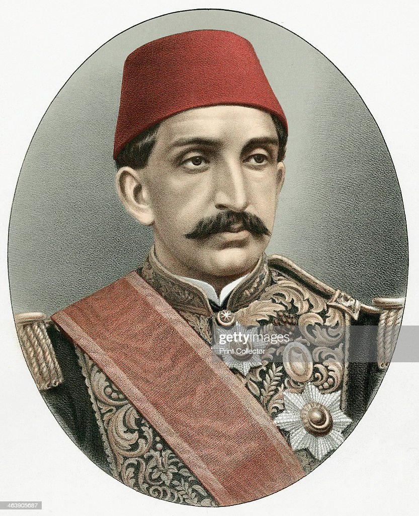 Abdul Hamid II (1842-1918), last Sultan of Turkey, c1880. Called the Great Assassin, he was a despotic ruler who was deposed and exiled in 1909.