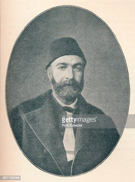 Abdul Hamid Zia Pasha' c1906 Abdul Hamid Zia Pasha poet publicist and secretary in the Imperial Palace in 1855 translating many French and Spanish...