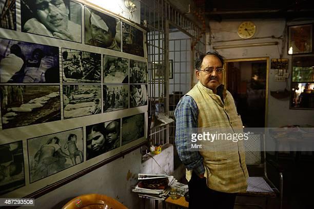 Abdul Jabbar Khan founder of NGO Bhopal Gas Peedith Mahila Udyog Sangathan on November 8 2014 in Bhopal India The NGO is working relentlessly for the...