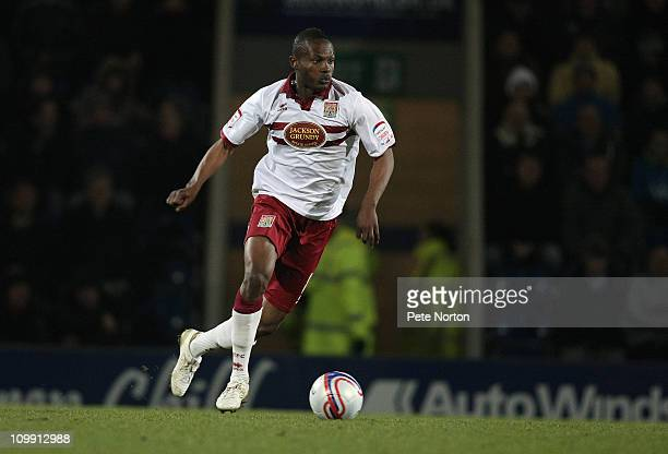 Abdul Osman of Northampton Town in action during the npower League Two match between Chesterfield and Northampton Town at the B2net Stadium on March...