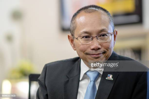 Abdul Wahid Omar chairman of Permodalan National Bhd listens during an interview in Kuala Lumpur Malaysia on Thursday Aug 17 2017 Malaysia's largest...