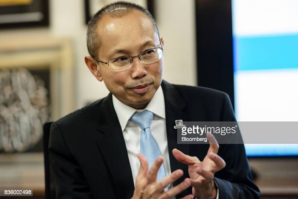 Abdul Wahid Omar chairman of Permodalan National Bhd speaks during an interview in Kuala Lumpur Malaysia on Thursday Aug 17 2017 Malaysia's largest...