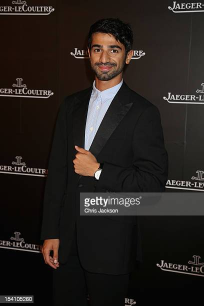 Abdulla Al Kaabi attends the Jaeger LeCoultre private gala dinner launch of the RendezVous watch on day three of the Abu Dhabi Film Festival 2012 at...