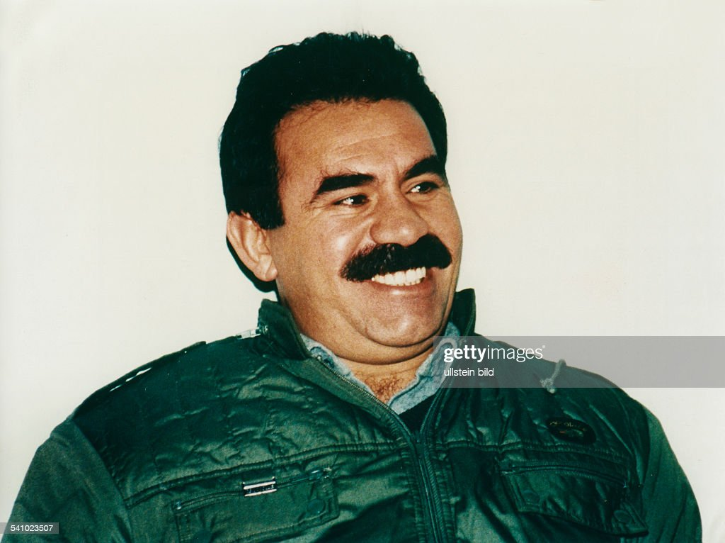 Abdullah Öcalan, leader of the PKK, who is waging a guerrilla war against the Turkish government from Lebanon