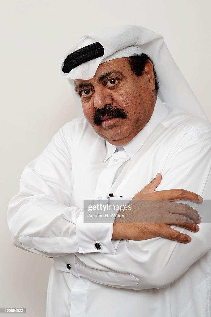 Abdullah Gifan poses for a portrait during the 2012 Doha Tribeca Film Festival at AL Najada on November 24, 2012 in Doha, Qatar.
