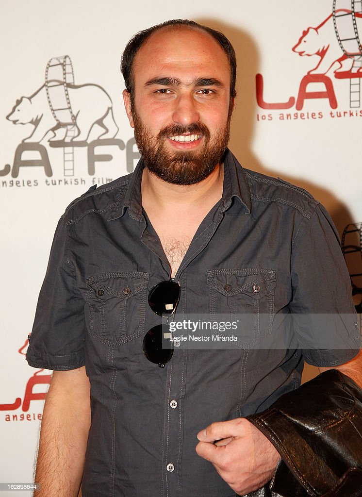Abdurrahman Oner attends The 2nd Annual Los Angeles Turkish Film Festival Opening Reception at the Egyptian Theatre on February 28, 2013 in Hollywood, California.