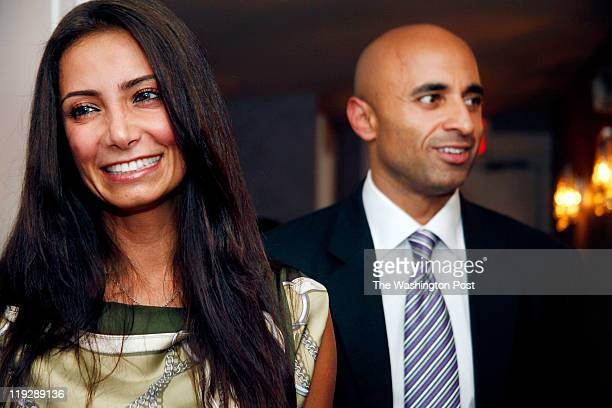 Abeer and Yousef Al Otaiba the Ambassador of the United Arab Emirates at the opening celebration of Nectar skin bar a premier beauty and body retreat...