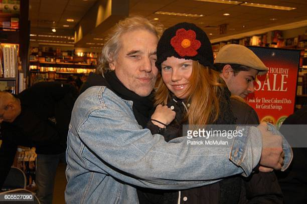 Abel Ferrara and Shannon Leigh attend Matthew Modine Book Signing for FULL METAL JACKET DIARY at Barnes Noble Book Store on January 4 2006 in New...