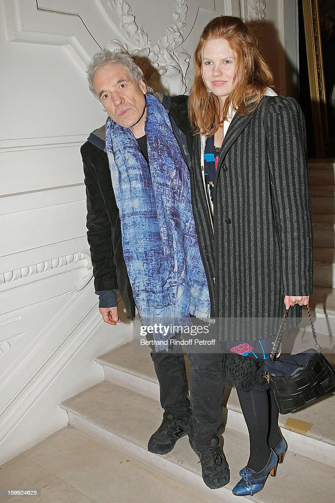 <a gi-track='captionPersonalityLinkClicked' href=/galleries/search?phrase=Abel+Ferrara&family=editorial&specificpeople=586297 ng-click='$event.stopPropagation()'>Abel Ferrara</a> (L) and <a gi-track='captionPersonalityLinkClicked' href=/galleries/search?phrase=Shanyn+Leigh&family=editorial&specificpeople=4302071 ng-click='$event.stopPropagation()'>Shanyn Leigh</a> arrive to attend the Jean-Paul Gaultier Spring/Summer 2013 Haute-Couture show as part of Paris Fashion Week on January 23, 2013 in Paris, France.