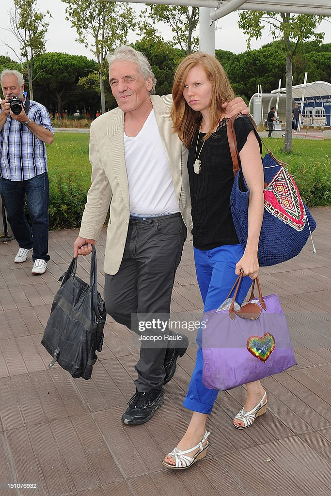 <a gi-track='captionPersonalityLinkClicked' href=/galleries/search?phrase=Abel+Ferrara&family=editorial&specificpeople=586297 ng-click='$event.stopPropagation()'>Abel Ferrara</a> is seen during The 69th Venice Film Festival on August 31, 2012 in Venice, Italy.