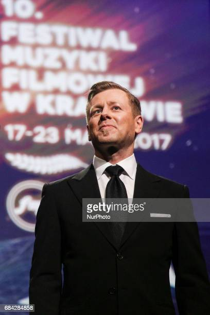 Abel Korzeniowski during 'The Music of Abel Korzeniowski' concert in ICE Congress Centre at 10 edition of the annual Film Music Festival in Krakow...
