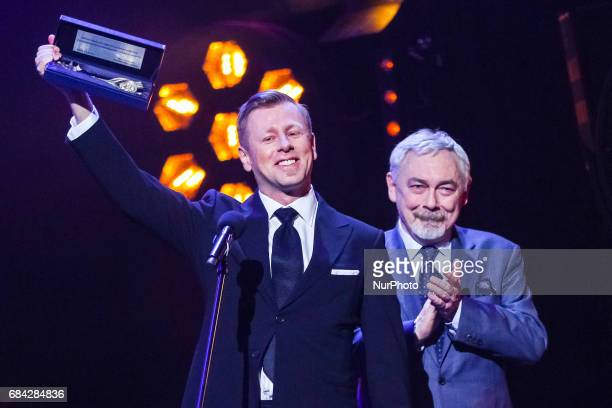 Abel Korzeniowski receives the Keys to the City of Krakow from the President of Krakow Jacek Majchrowski during 'The Music of Abel Korzeniowski'...