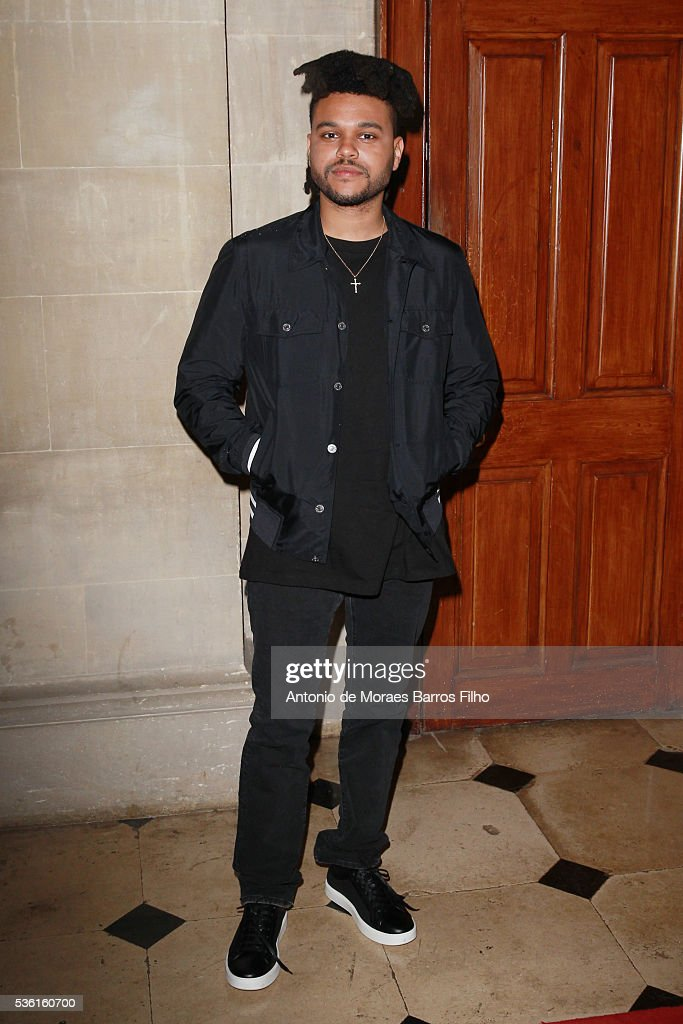 Abel Makkonen Tesfaye attends Christian Dior showcases its spring summer 2017 cruise collection at Blenheim Palace on May 31, 2016 in Woodstock, England.