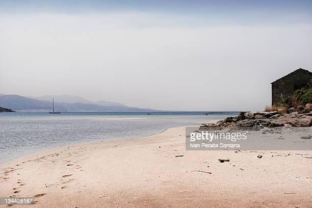 Abelleira is small town with amazing white beach