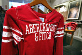 Abercrombie Fitch clothing is displayed in one of its stores December 8 2003 in Chicago Illinois A recent report claims that Abercrombie Fitch...