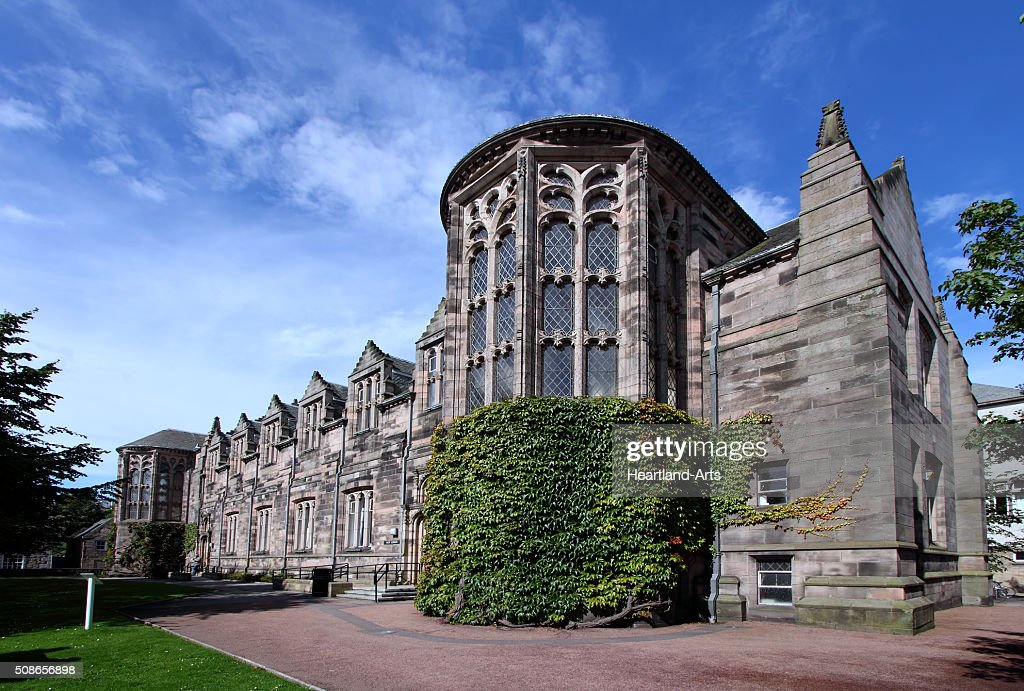 Aberdeen University New King's College Building : Stock Photo