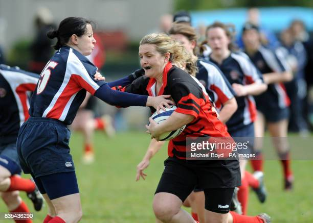 Aberdeenshire Quines and Lismore clash in the Bowl FInal
