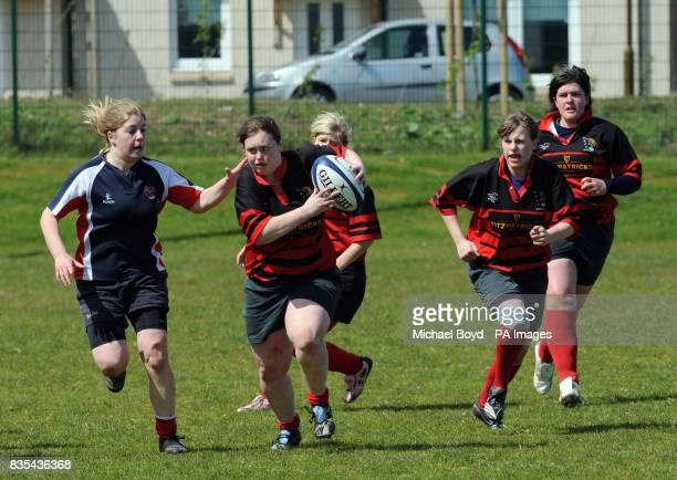 Aberdeenshire Quines' Fiona Shoulder during the Bowl Final