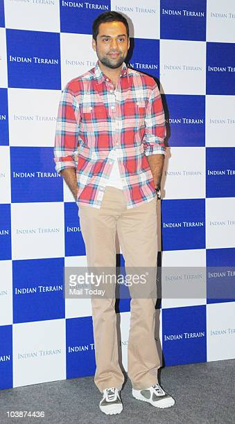Abhay Deol at a launch event in Mumbai on September 6 2010