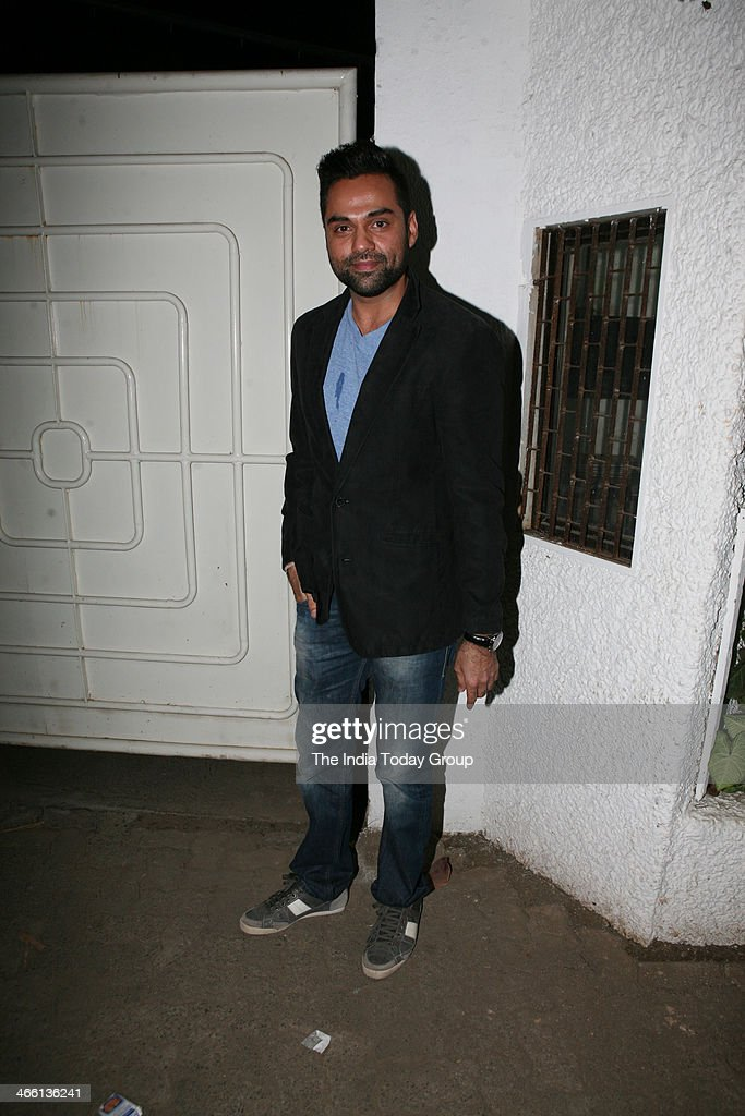 <a gi-track='captionPersonalityLinkClicked' href=/galleries/search?phrase=Abhay+Deol&family=editorial&specificpeople=5377911 ng-click='$event.stopPropagation()'>Abhay Deol</a> at the Special Screening of film One by Two at Sanny super sound studio Juhu, Mumbai on 30th January, 2014.