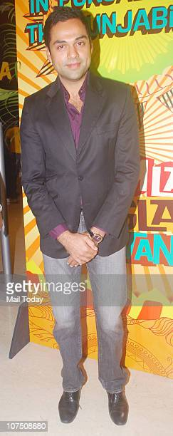 Abhay Deol during the music release of Dharmendra's home production film Yamla Pagla Deewana in Mumbai on Thursday night