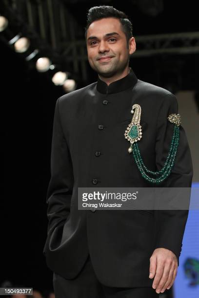 Abhay Deol walks the runway in a Amrapali Jewellery design at the India International Jewellery Week 2012 Day 1 at the Grand Hyatt on on August 19...